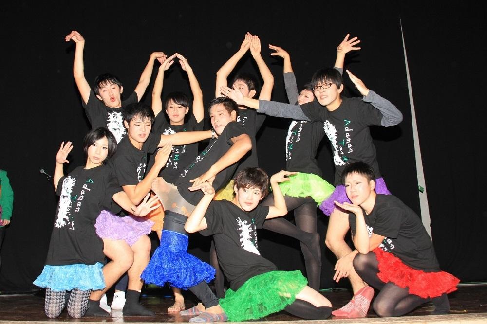 ダンス発表会の衣装