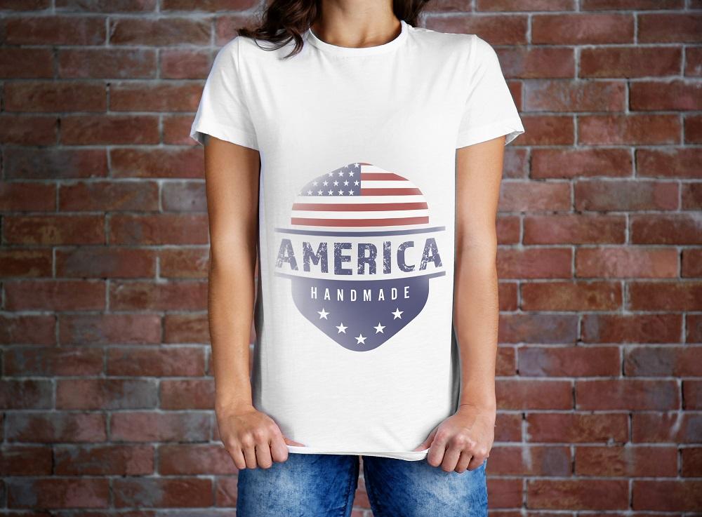 アメリカンなTシャツ