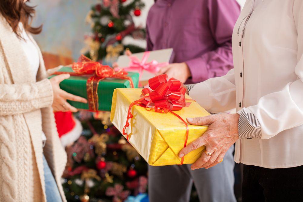 クリスマスのプレゼント交換